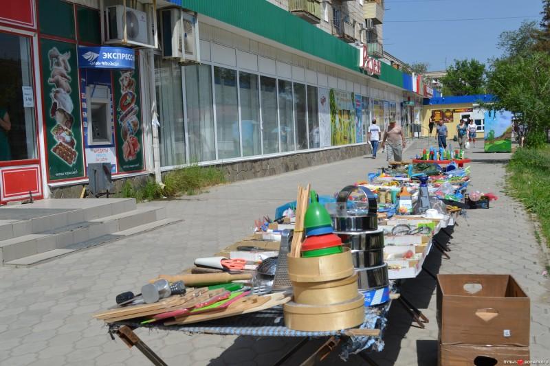Уличные торговцы представляют опасность для волжан