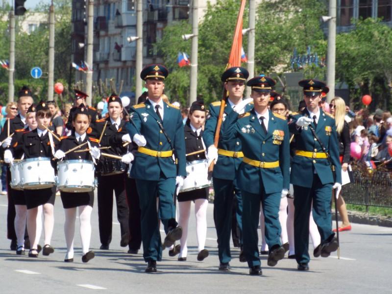 День Победы в Волжском
